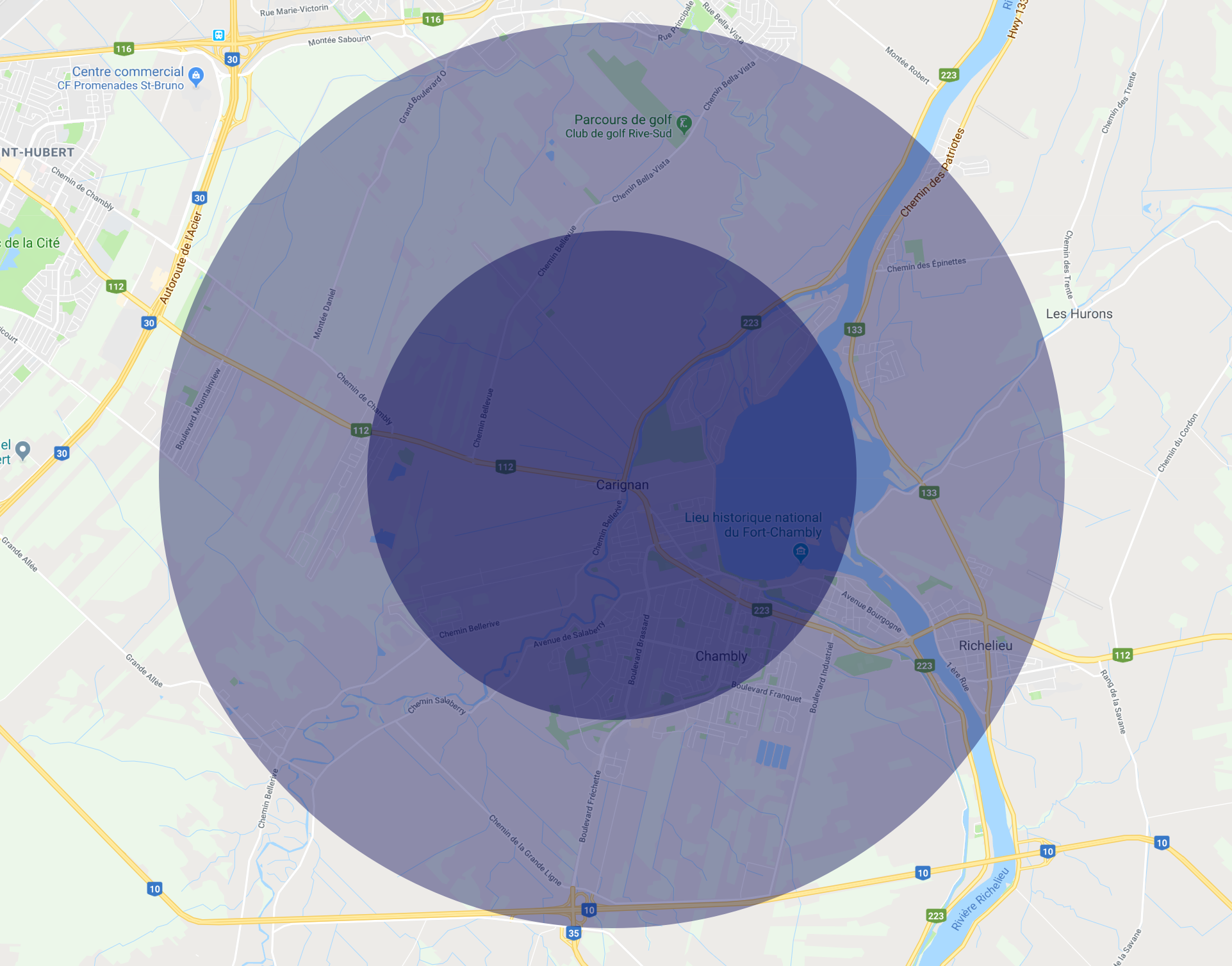 map-carignan