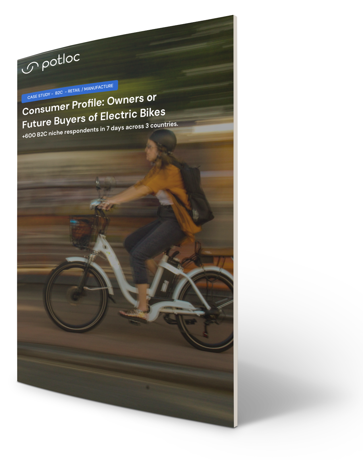 Cover Case Study Consumer Profile Owners or Future Buyers of Electric Bikes Consulting-1