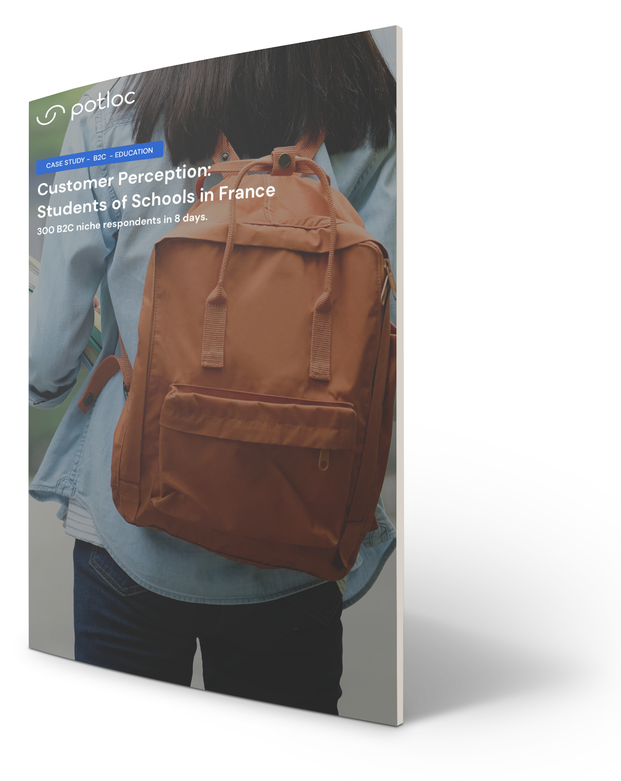 Cover of Case Study on B2C Research on Customer Perception | Education | Potloc Consulting